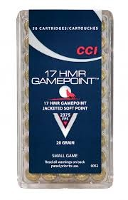 CCI 17 HMR GAME POINT 20 GR. SP